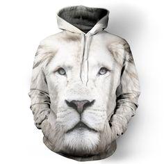 White Lion Hoodie