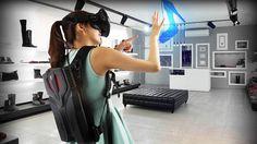 MSI VR One: Sac à Dos PC taillé pour la Réalité Virtuelle