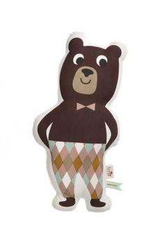 Ferm Living Shop — Mr. Bear Cushion