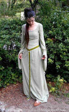 Noldorin Rivendell Elf OC cosplay