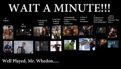 Well played, Mr. Whedon
