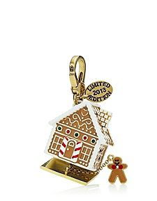 Too cute and had to pre-order this Limited Edition Gingerbread House Charm - Juicy Couture