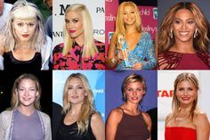 Celebrity Eyebrows Then and Now - Elle