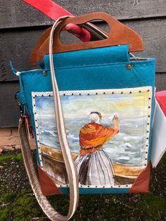 Bags, Kunst, Handbags, Bag, Totes, Hand Bags