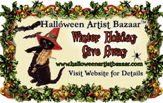 Winter Holiday Give Away2014 Enter now to win!! www.halloweenartistbazaar.com/winter-holiday-give-away-2014/