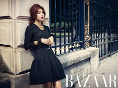 Suzy wows with her chic pictorial for 'Harper's Bazaar' | allkpop.com