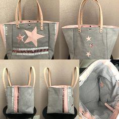 Un nouveau sac qui sent le printemps gris rose lilicoud07