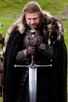 Eddard Stark and Ice