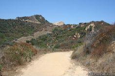 Santa Ynez Canyon Trail to Eagle Rock in the Santa Monica Mountains
