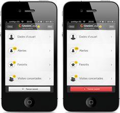 UnnimCasa App by Antitipo , via Behance