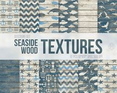 #seaside #wood #wooden #textures #whales #anchors #sea #patterns #nautical #backgrounds #blue #teal