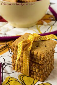 Biscotti integrali di kamut e sciroppo d'acero | Ricordi e Tradizioni