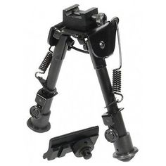 Rifle Bipod Tactical Rail Picatinny Mount Adjustable Folding AR Metal Best New