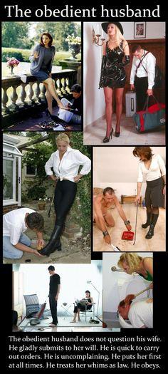 husbands in femdom servitude