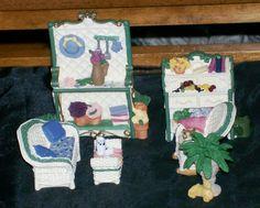 "Avon Miniature Furniture Collectibles Victorian Memories ""The Patio Series"" @ ditwtexas.webstoreplace.com"