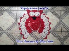 Jogo de banheiro coruja : Tapete do vaso coruja Vício Femino by Elisa Felix