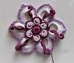 Letras e Artes da Lalá: Crochê irlandês/irish lace (fotos: pinterest - sem receitas)
