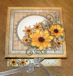 Heartfelt Creations Sunflowers Fold Over Box by Jabber1102 - Cards and Paper Crafts at Splitcoaststampers