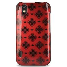 Buy LG 2D Protector Cover for LG Marquee LS855 0082 - Retail Packaging - Red/Black NEW for 3.07 USD | Reusell