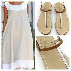 Binomio perfetto! Abito Positano e sandali Capri artigianali. Dea Sandals  Capri Style www.deasandals.com #caprisandals #sandaligioiello #sandali #sandalicapri #fashion #glamour #moda #scarpe #swarovsky #outfit #fashionblogger #fashionweek #jeweledsandals #sandals #sandaliartigianali #tailormade #handmade #madeinitaly