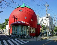 Sanrio Strawberry House Tokyo ♥