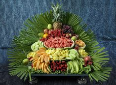 Fruit Tray | Beautifully decorated display table with fresh … | Flickr