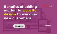 Increase the customer base of your BUSINESS WEBSITE by adding animation with the help of a WEBSITE DESIGN COMPANY, SynapseIndia.   Add layers of motion to grab customer's attention at a first glance. Business Website, Online Business, Website Design Company, Mobile Application, The Help, Benefit, Layers, Animation, Base