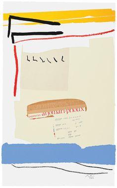 Robert Motherwell, 'America-La France Variations III,' 1984, Bernard Jacobson Gallery https://www.artsy.net/artist/robert-motherwell