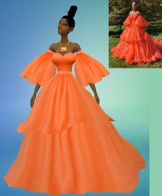 a dress for sims 4 players! on my patreon page 4 4 dress Sims 4 Teen, Sims Four, Sims 4 Toddler, Sims Cc, Maxis, Sims 4 Cc Kids Clothing, Sims 4 Mods Clothes, Sims 4 Dresses, Gala Dresses