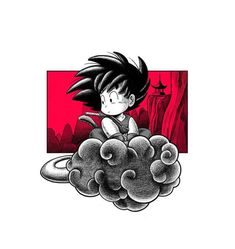 Goku, Dragon Ball , n Kid Goku, Art Anime, Anime Tattoos, Joko, Dragon Ball Gt, Cartoon Drawings, Sketches, Comics, Disney Drawings