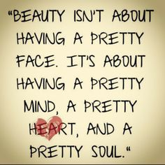 shallow people quotes | Is Beauty Skin Deep or Does it Come from Somewhere Else?