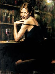 Fabian Perez art gallery, committed to offering great prices to the public. We specialize in Fabian Perez original paintings and limited edition prints. Fabian Perez, Romain Gary, Local Art Galleries, Wine Painting, Woman Wine, Wine Art, Illustrations, Paintings For Sale, Art Paintings