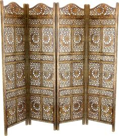 carved wooden screen we have one of these