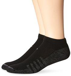 New Balance Technical Elite No Show 2 with Coolmax Socks (4 Piece), Large, Black