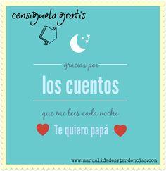 Tarjetas imprimibles modernas para el día del padre www.manualidadesytendencias.com #día #padre #tarjetas #freebies