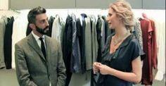 Patrizia Saolini visita il negozio di Bagutta a Milano