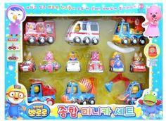 new Pororo & Friends 12 Minicar Set Pororo