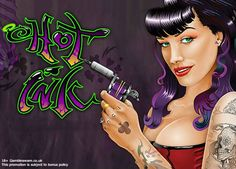 Go for the Hot Ink- one of the best #slot online featuring the tattoo-filled visuals with attractive payouts at Slot Jar! #casinouk
