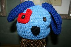 Crocheted Puppy dog hat