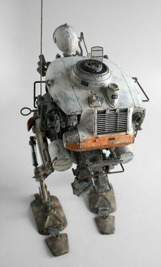 Photos of the Krote Bambaland Exclusive Edition toy from the Maschinen Krieger Collection by ThreeA based on designs from Kow Yokoyama.
