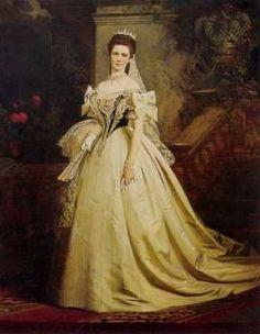 Kaiserin Elisabeth in ungarischer Tracht