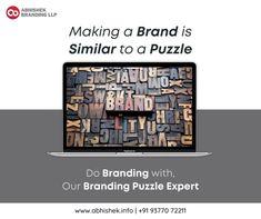 Making a Brand is Similar to a puzzle Do Branding with Our Branding Puzzle Expert. More Detail: www.abhishek.info #brandpuzzle #brandingexpert #puzzle #brand #branding #brandstrategy #brandidentity #brandingservices #brandingagency #brandingagencyindia #graphicsdesign #logodesign #corporateidentity #corporatedesign #business #startup #smallbusiness #vadodara #india #usa #uk #uae #dubai #brandingvideo #videomaker #digitlbranding