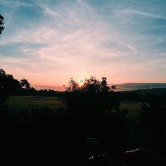 Sunrise  #sunrise #sun #cloud #sky #tree