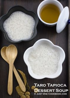 Taro Tapioca Pearl Dessert - Love that taro tapioca pearl dessert at Chinese restaurants You can make this easy dessert at home with a few simple ingredients Easy Japanese Recipes at Asian Desserts, Easy Desserts, Dessert Recipes, Chinese Desserts, Chinese Recipes, Asian Recipes, Easy Japanese Recipes, Japanese Food, Chinese Food