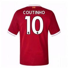Liverpool Philippe Coutinho 10 Koszulka Podstawowych 2017-2018 Liverpool, Manchester United, Premier League, Mario, Sports, Tops, Philippe Coutinho, Goaltender, Leotards