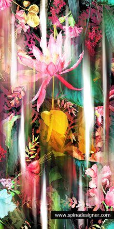 Fresh flower print