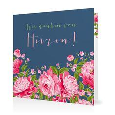 Dankeskarte Blütenzauber in Taube - Klappkarte quadratisch #Hochzeit #Hochzeitskarten #Danksagung #Foto #kreativ #modern https://www.goldbek.de/hochzeit/hochzeitskarten/danksagung/dankeskarte-bluetenzauber?color=taube&design=d33b2&utm_campaign=autoproducts