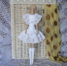 Tilda doll handmade Leticia