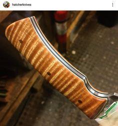 Knife Handles, Custom Knives, Knife Making, Swords, Blade, Hobbies, How To Make, Ideas, Knives