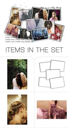 """""""Parvati and Lavender Yule Ball"""" by peregrinetook ❤ liked on Polyvore featuring art, harrypotter and femslash"""